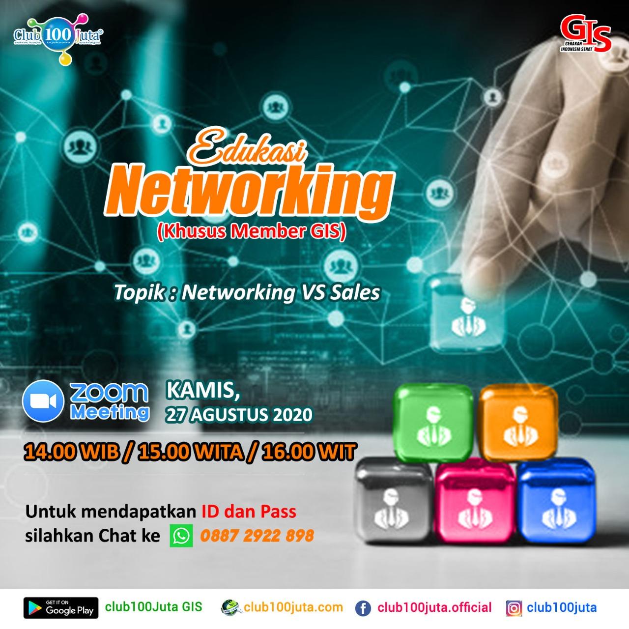 Networking vs Sales