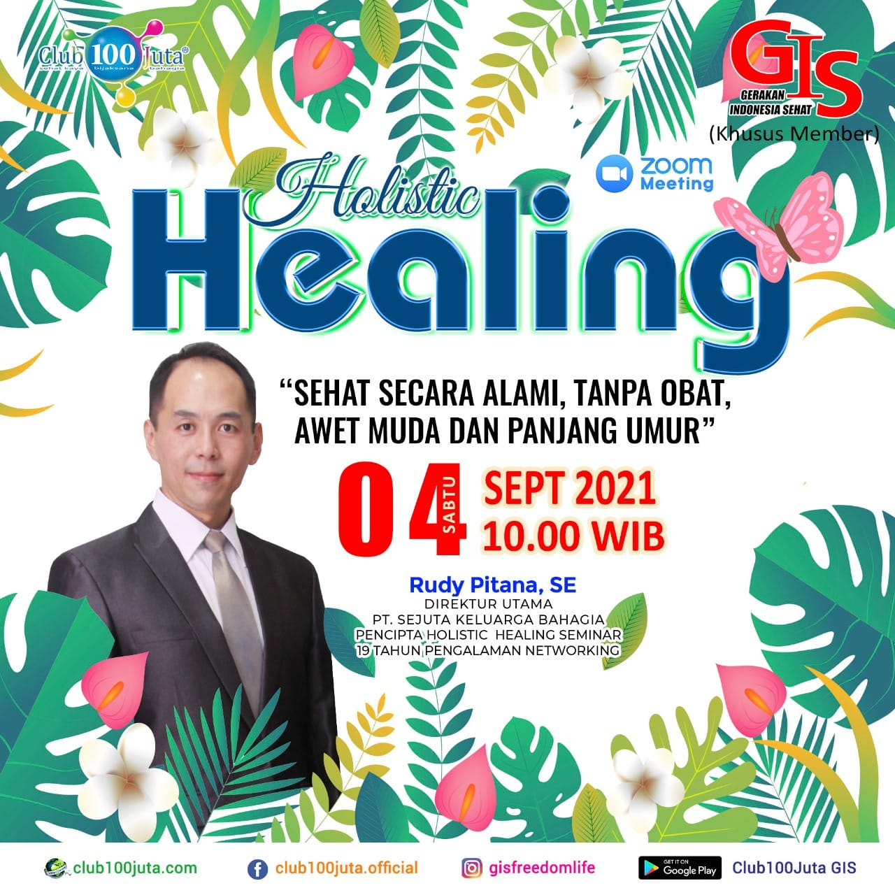 Holistic Healing - Minggu pertama Sept 2021